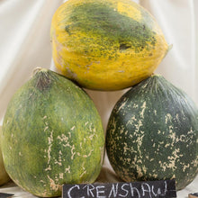 Load image into Gallery viewer, Organic Melon, Crenshaw (1/4 lb)