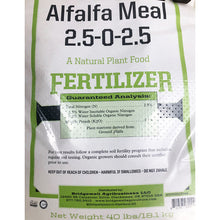 Load image into Gallery viewer, Organic Alfalfa Pellet Crumble-Course (40 Lb)