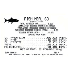 Load image into Gallery viewer, Fish Meal (50 Lb)