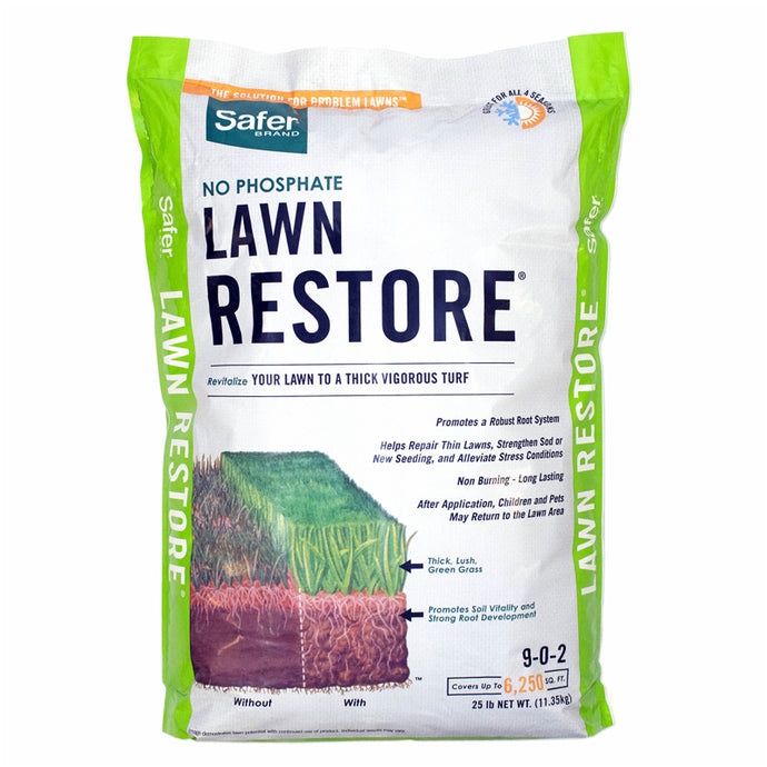 Lawn Restore Fertilizer 9-0-2 (25 Lb)
