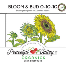 Load image into Gallery viewer, Peaceful Valley Organics Bloom and Bud (4 lb)