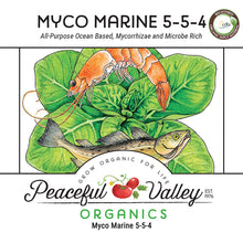 Load image into Gallery viewer, Peaceful Valley Organics Myco Marine 5-5-4 (25 lb)