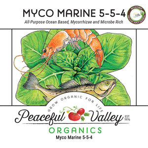 Peaceful Valley Organics Myco Marine 5-5-4 (25 lb)