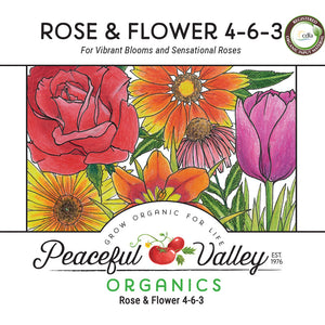 Peaceful Valley Organics Rose and Flower 4-6-3 (25 lb)