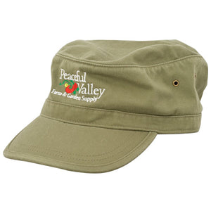Peaceful Valley Organic Corps Hat (Green)