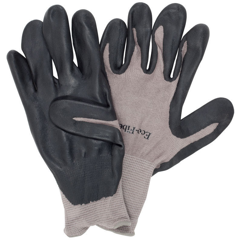 Men's Bamboo Nitrile Gloves Grey (Large)