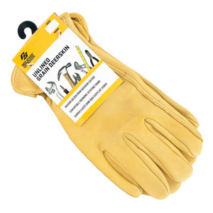 Men's Grain Deerskin Gloves (Large)