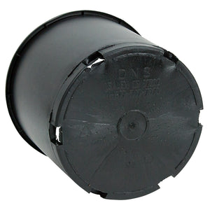 Black Plastic Pot (3 gallon size)