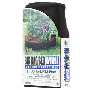 Smart Pot Big Bag Bed Mini - Black (15 Gal)