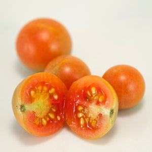 Organic Cherry Tomato, Red Grape Riesenstraube