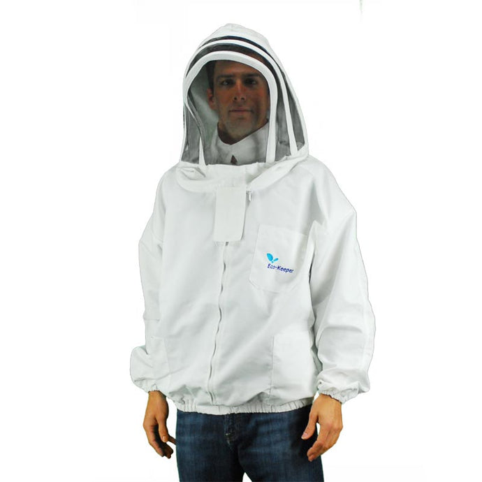 Eco-Keeper Bee Jacket w/Veil Hood - Large