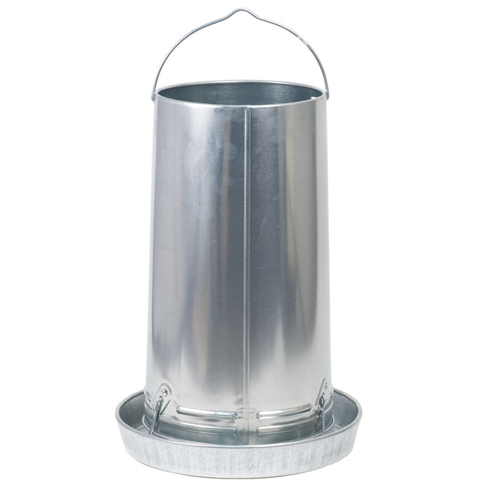 Chicken Feeder Galvanized 40lb