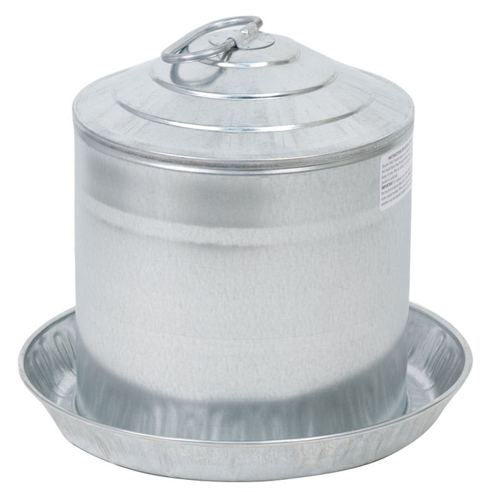 Chicken Waterer Galvanized 2 gal