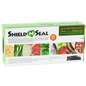"Shield N Seal, Rolls, Clear & Black, 11""x19.5' (2 pack)"