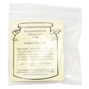 Thermophilic Culture, Direct Set (5/Pack)