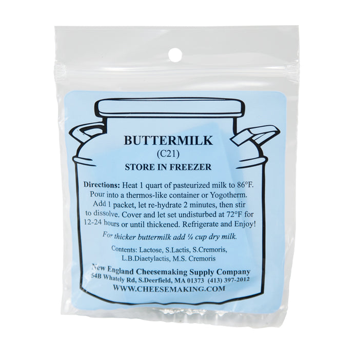 Buttermilk Culture, Direct Set (5/Pack)
