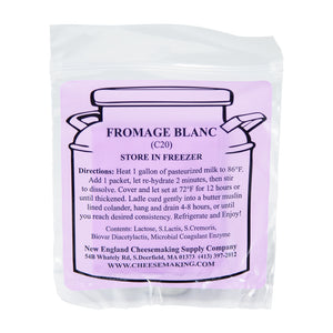 Fromage Blanc Culture, Direct Set (5/Pack)