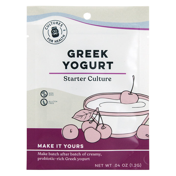 Greek Yogurt Starter Culture (Pack of 2)