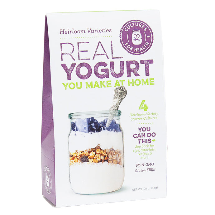 Heirloom Yogurt Starter Cultures (4/pk)