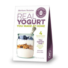 Load image into Gallery viewer, Heirloom Yogurt Starter Cultures (4/pk)