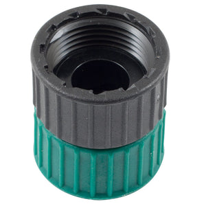 "3/4"" Plastic Swivel Adapter FPT x FHT"