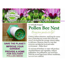 Load image into Gallery viewer, Pollen Bee Nest