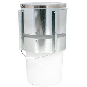 Sagebrush Metal Fly Trap For 5 Gallon Bucket, with Screen