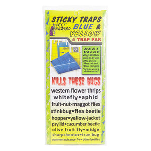 Sticky Blue and Yellow Traps