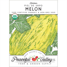 Load image into Gallery viewer, Organic Melon, Piel de Sapo