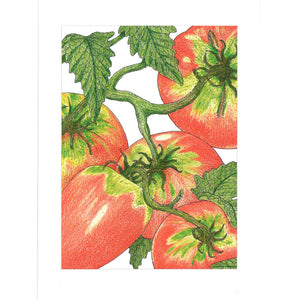 Peaceful Valley Garden Art Greeting Cards