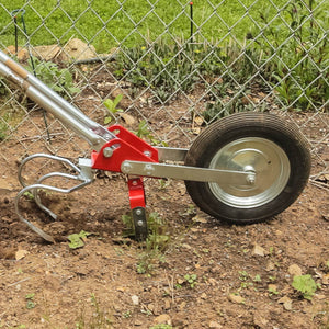Glaser Wheel Hoes - Three Tine Cultivator Attachment