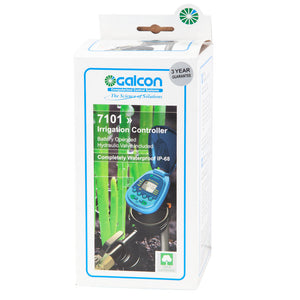 Galcon 7101 Programmable Water Timer with Integrated Inline Valve