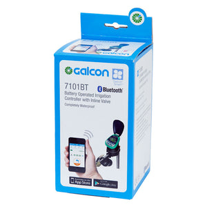 Galcon 7101BT Bluetooth Programmable Water Timer with Integrated Inline Valve