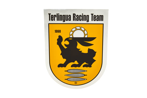 Terlingua Racing Team Shield Fender Decal-Large
