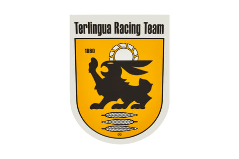 Terlingua Racing Team Shield Fender Decal-Small