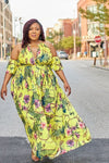 Paradise Island Pearl Collar Maxi Dress-201 Maxi Dressy, Print-Latiste-[plus_size]-Honey's Child Boutique