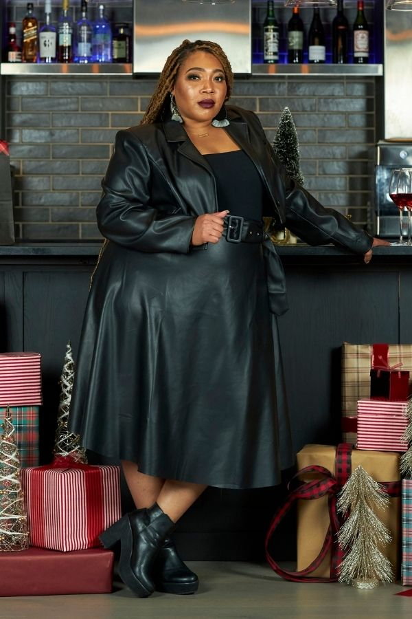 The Night Before Leather Skirt Set-300 Sets, Dressy-Latiste-[plus_size]-Honey's Child Boutique