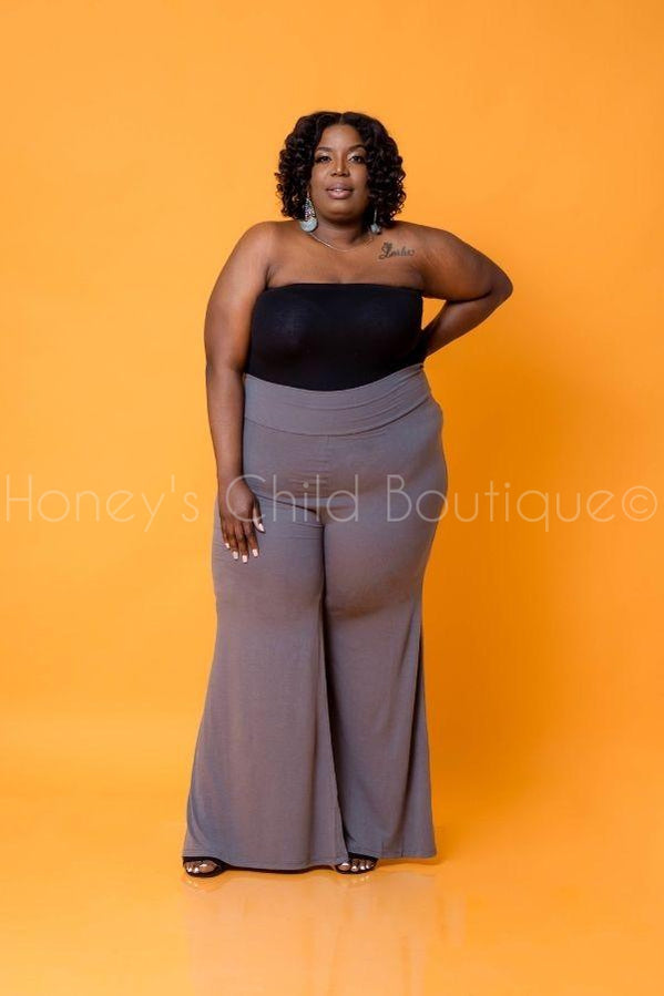 On a Journey Palazzo Pants-600 Bottoms-Honey's Child Boutique-[plus_size]-Honey's Child Boutique