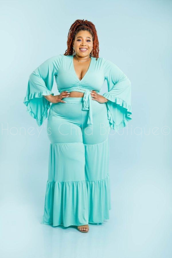 Dream On Pants Set-300 Sets, Dressy-Viva Chic-[plus_size]-Honey's Child Boutique