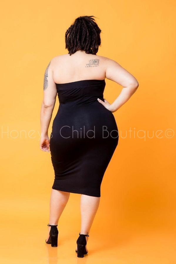 Stop Traffic Tube Dress-220 - Midi Dress-Honey's Child Boutique-[plus_size]-Honey's Child Boutique