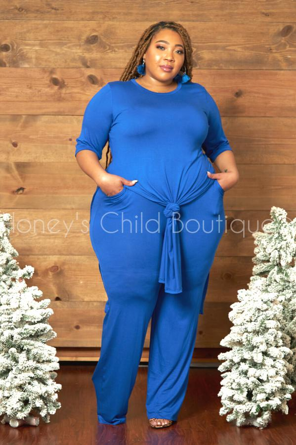 Set the Mood Tunic & Pants Set-310 - Sets/Casual-sexy diva-[plus_size]-Honey's Child Boutique