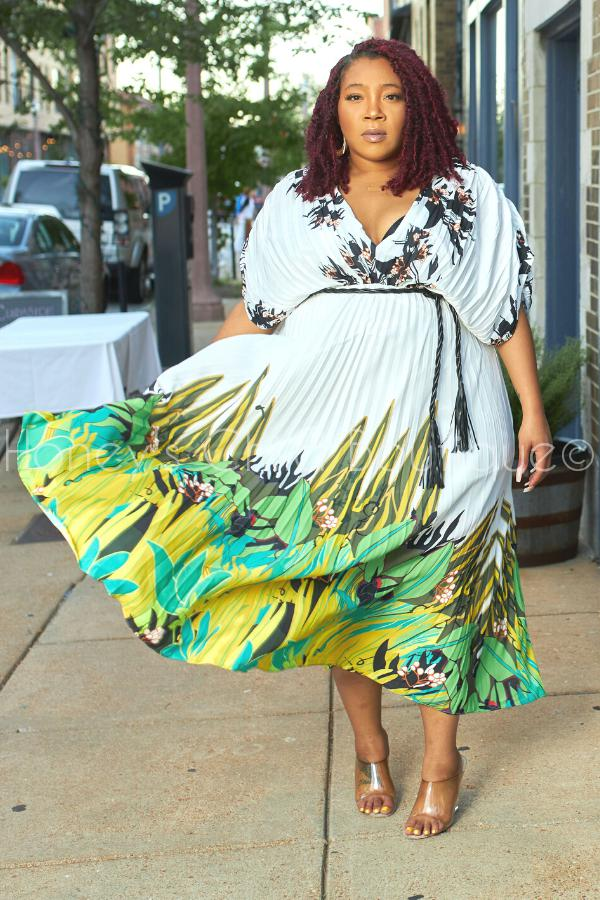 Sweet Afternoon Pleated Maxi Dress-Dress-Latiste-[plus_size]-Honey's Child Boutique