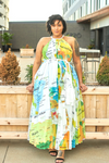 World Tour Pleated Maxi Dress-Dress-Latiste-[plus_size]-Honey's Child Boutique