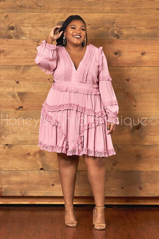Cherish Me Ruffle Dress