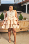 Good Girl Ruffle Mini Dress-Dress-The Curve LA-[plus_size]-Honey's Child Boutique