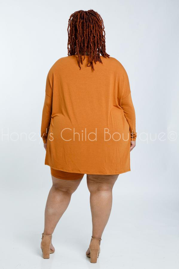Easy Peasy Biker Shorts Set-310 - Sets/Casual-Zenana-[plus_size]-Honey's Child Boutique