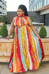Chains of Love Maxi Dress-Dress-Latiste-[plus_size]-Honey's Child Boutique