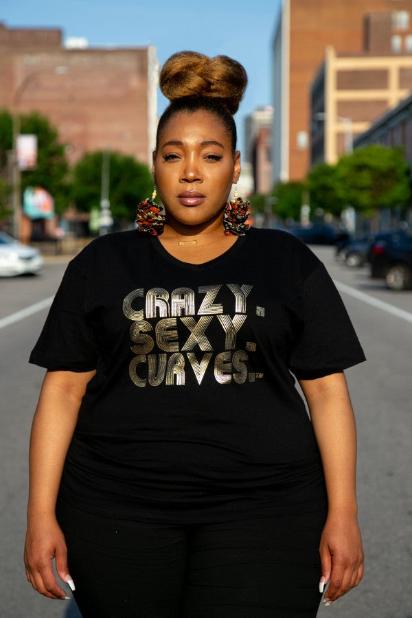 Crazy.Sexy.Curves. T-Shirt