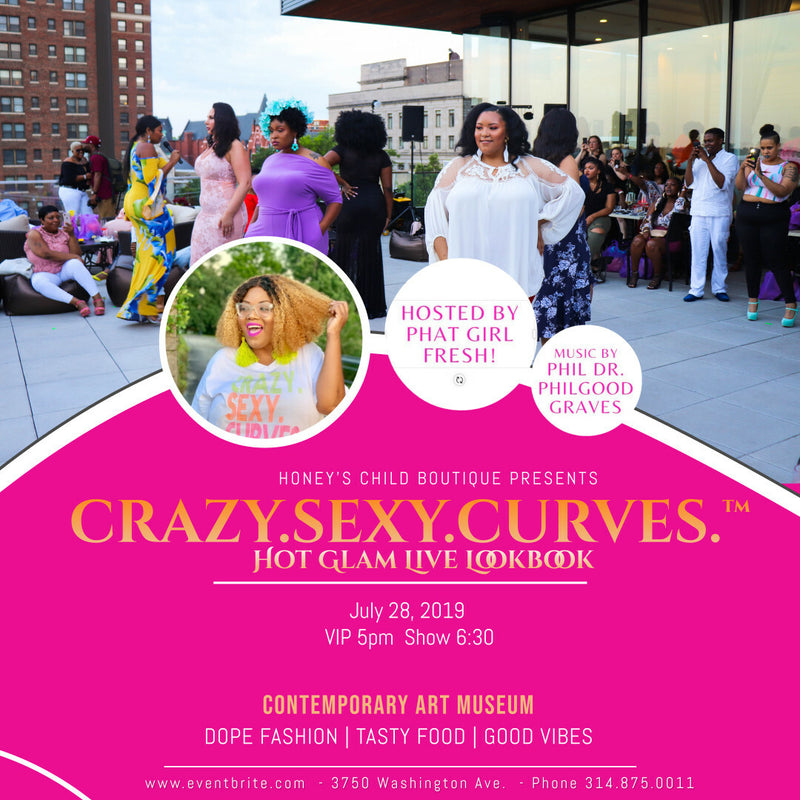 CrazySexyCurves General Admission Ticket
