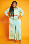 Free Spirit Tie Dye Palazzo Pants Set-set-Sexy Diva-[plus_size]-Honey's Child Boutique